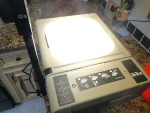 Dukane 641 Professonal Overhead Projector Tested Working W Bulb And Dust Cover