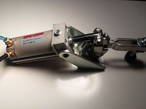 Used Pneumatic Cylinder And Clamp De Sta Co 807 42 De sta co 80742 Destaco