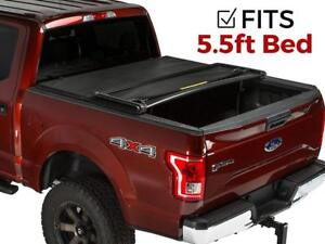 Premium Roll Lock Tonneau Cover For 2015 2019 Ford F 150 5 5 Bed