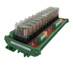 12 Channel Plc Relay Module 1 Open 1 Closed Output Control Panel Driver Board