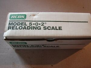 rcbs 502 scale new in box