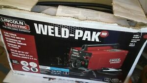 Lincoln Electric Weld Pak 140hd K2514 1 Mig Wire Feed Welder