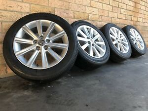 Toyota Camry 17 Inch Genuien Wheels And Bridgestone Tyres Used Set Of 4