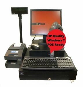 Touch Screen I5 3 1ghz Full Cash Register Point Of Sale Win 7 Pos Software