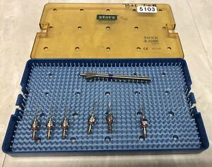 Alcon Storz Bausch Lomb Eye Surgical Ophthalmic Instrument Lot 5103