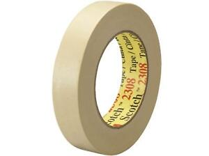 Retailsource T9352308x12 3m 2308 Masking Tape 1 X 60 Yd pack Of 12
