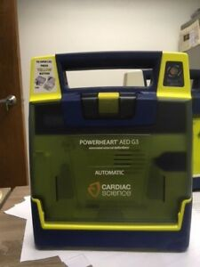 Powerheart G3 Automatic Aed W Case New Pads And New Batt