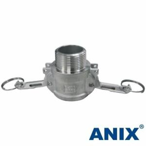 2 1 2 Inch Cam Lock Fitting Type B Female Coupler X Male Npt Stainless Steel