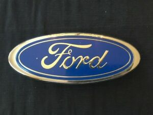 Ford F700 F600 Blue Oval Grille Emblem Ornament Oem Ford E5ht 16637 aa