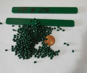 Green Polypropylene Pp Or Pe Concentrate Plastic Pellets Resin Colorant 5 Lbs