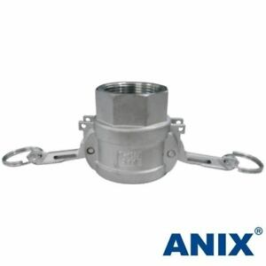 4 Inch Camlock Fitting Type D Female Coupler X Female Npt Stainless Steel