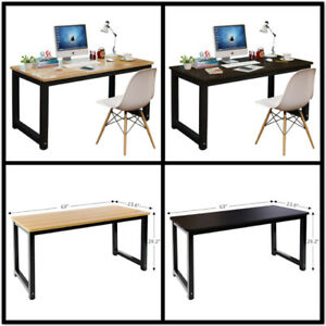 J m Computer Desk Pc Laptop Study Home Office Wood Furniture 3 Size 47 55 63