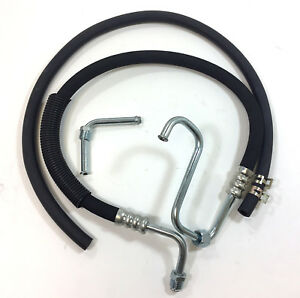 1969 Chevy Camaro Power Steering Pump Pressure Hose Kit Gm