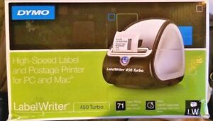 New other Dymo Labelwriter 450 Turbo Thermal Label Printer W box