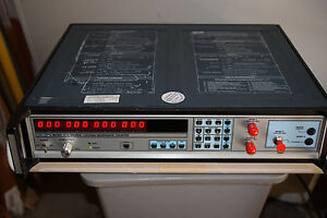 Eip 578 Cnn Source Locking Microwave Frequency Counter 10mhz 26 5ghz Opt 01 04