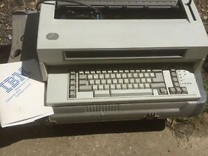 Ibm Wheelwriter 10 Series Ii Electric Typewriter 6783 Lexmark