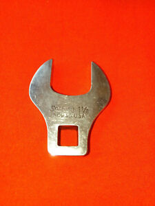 Snap On Usa 1 1 8 Crowfoot Open End Wrench 1 2 Drive Sco36