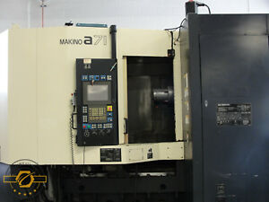 Makino A71 28 7 X 28 7 Y 31 5 Z Cnc Horizontal Machining Center New 2005
