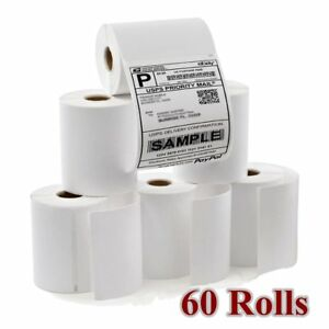 Dymo Compatible 60 Rolls 4x6 Direct Thermal Shipping Address Mailing Labels