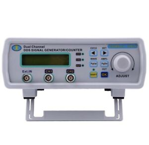 Digital Dual channel Signal Generator Arbitrary Waveform Frequency Meter 25mhz