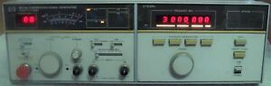 Hp Agilent 8672a Synthesized Signal Generator W Manual Nist Calibrated
