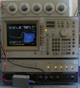 Hp Agilent 4194a Impedance gain phase Analyzer W opts Man Nist Calibrated