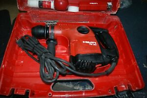 Hilti Te 30 Rotary Hammer Drill With 17 New Bits And 6 Used