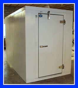 8 x16 x8 2 New Foster Walk In Freezer With Refrigeration Floor
