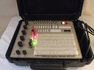 R s r Electronics Digital Analog Trainer Pad 234a Used Very Good Condition