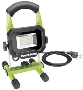 Powersmith Pwl1118bs Led Work Light 1800 Lumens 20 Watts