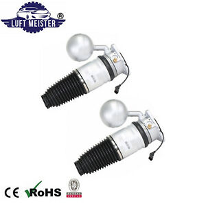 Pair Rear Left Right Air Suspension Spring Kits For Vw Phaeton All 2004 2006