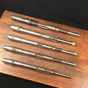 Vtg Tools Lot 5 Usa Critchley Carbon Angle Blades Reamer Priority Mail