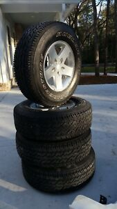 Jeep Tire And Rim Set