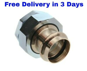 2 Propress Bronze Di electric Union p X Fnpt Lead Free Propress Fittings