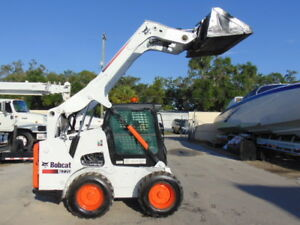 2012 Bobcat S 770 Turbo 92 Hp Enclosed Comfort Cab New Tires Self Leveling