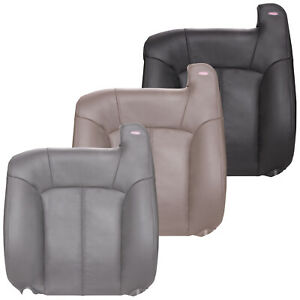 2000 2002 Chevy Silverado Driver 40 Portion Split Bench Top Seat Cover Leather