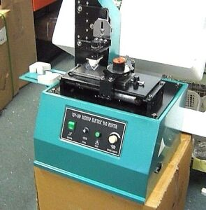 Pad Printer Tdy 300c Ink Press For Trademarks Logos Coding 110 Volt