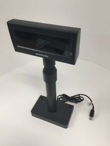 Bixolon Vacuum Fluorescent Customer Pole Display Usb Interface 5 24 Vdc Black