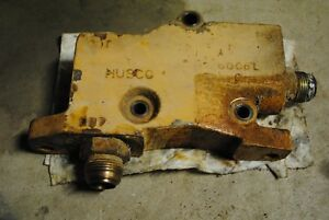 Control Outlet Valve D9nne541aa Ford 555b Backhoe