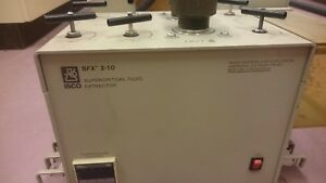 Isco Sfx2 10 Supercritical Fluid Extractor