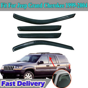 For Jeep Grand Cherokee 1999 2004 Window Visor Rain Guard Shield Deflector Vent