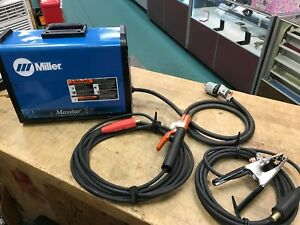 Miller Maxstar 200 Sd Portable Tig Tig stick Welder With Brand New Stick Leads