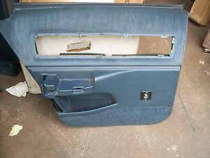 Caprice Impala Door Panel Dark Blue 91 96 Lr Chevy Buick Roadmaster