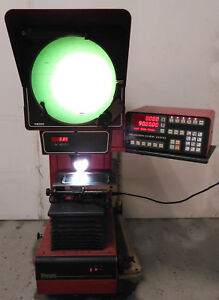 11450 Starrett Sigma Vertical Bench Optical Comparator Quadra chek 2000 Vb300