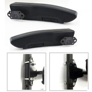 Adjustable Car Truck L r Arm Rest Seat Arm Console Universal Clamp drilling Fit