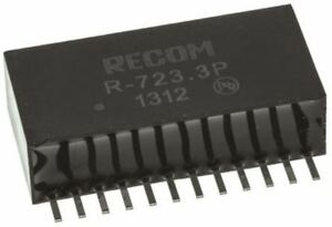 Recom Switching Regulator 4 5 28v Dc Input 3 3v Dc Output 2a
