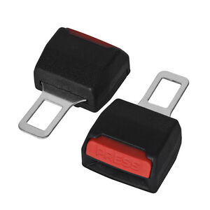 Seat Belt Clip Auto Car Safe Plug Buckle Alarm Stopper Clamp Vehicle Accessory