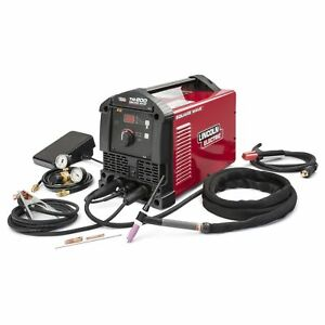 Lincoln Square Wave Tig 200 new 3 yr Factory Warranty free Tig Torch Holder