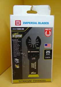 Imperial Blades Iboat330 25 Oscillating Saw Blade 1 1 4 New