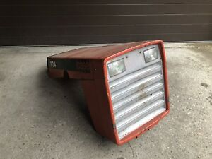 Vintage Case 224 Tractor Hood And Head Light